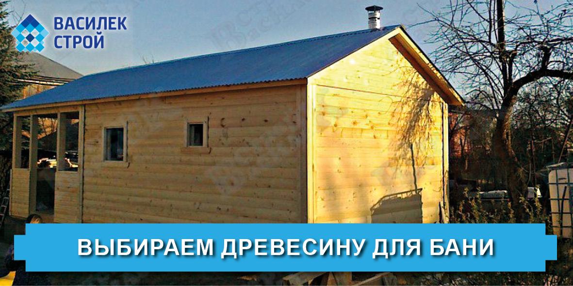 Выбираем древесину для бани - Василек Строй